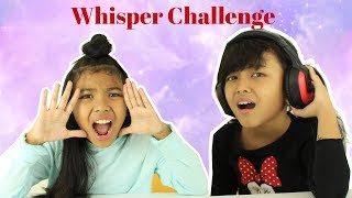 WHISPER CHALLENGE KIDS EDITION ♥ Funny Challenge Video