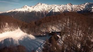 Промо видео отеля VIP класса в горах