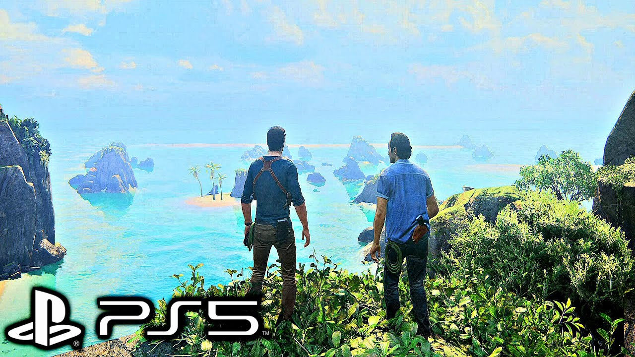 UNCHARTED 4 PS5 Gameplay 4K HDR ULTRA HD