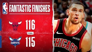 LaVine CALLS GAME In Road Win Over Hornets!!