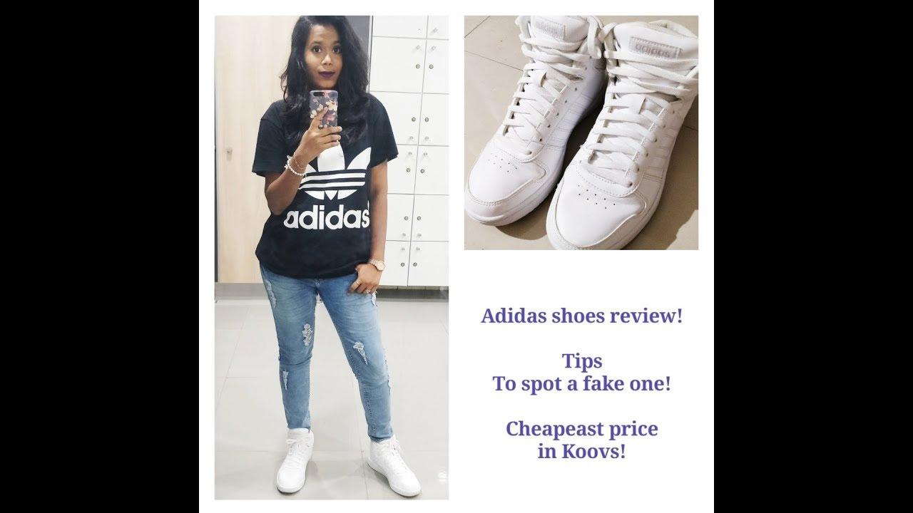 Koovs.com - Adidas shoes (Core Hoops