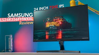 Samsung 24 Inch LS24R356FHWXXL Monitor Review OMG This Looks Amazing