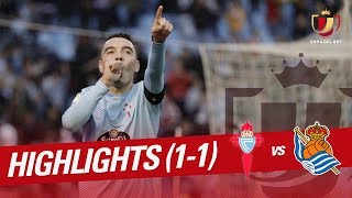 Resumen de RC Celta vs Real Sociedad (1-1)