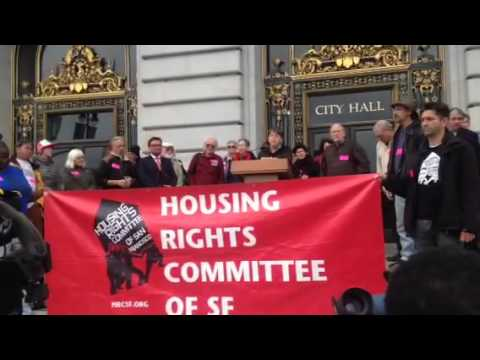 AirBnB Blasted By Housing Advocates At Rally