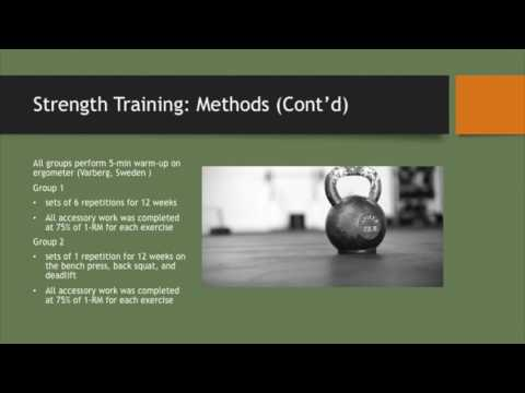 Strength Training: Bulgarian vs Traditional Periodization | KIN 473 | Brian Nichols