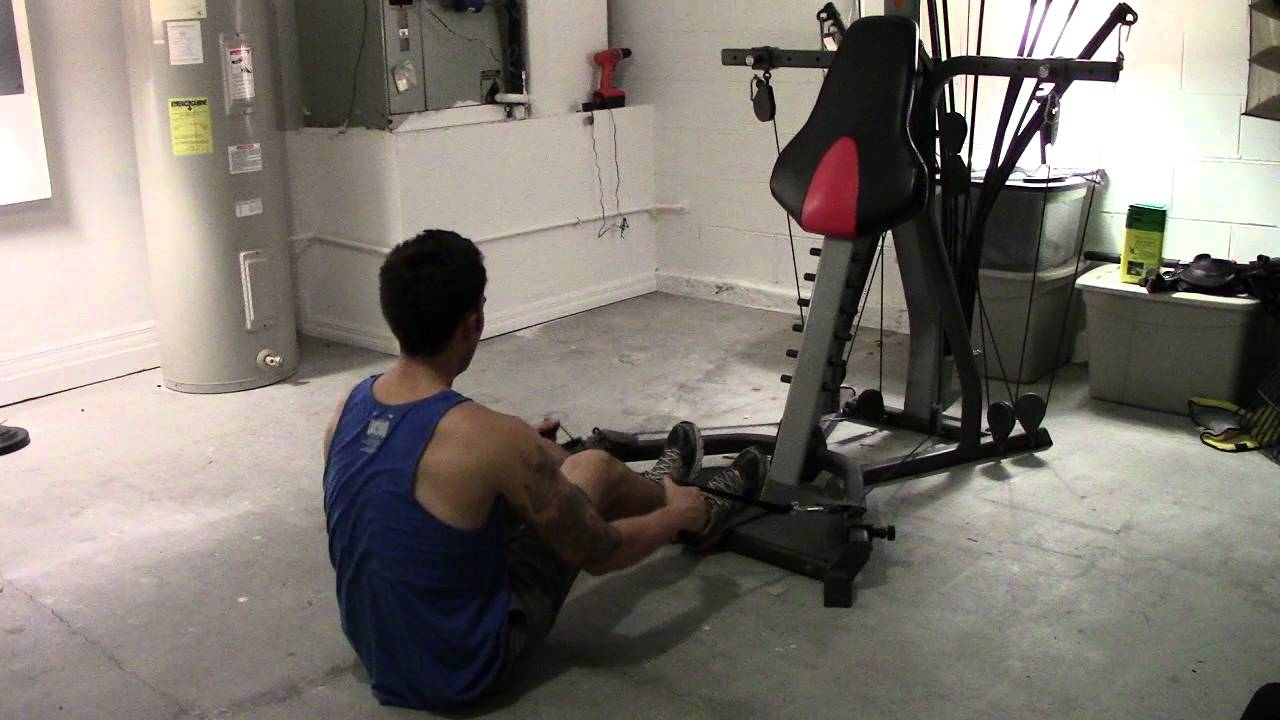 Try Bowflex Max >> Bowflex Xtreme 2 SE Seated Rows How To - YouTube