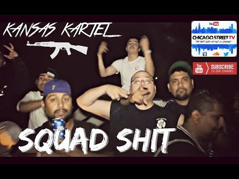 "Kansas Kartel ""Squad Shit"" [CHICANO RAP!!!] Wichita Kansas VLB FOLKS GANG"