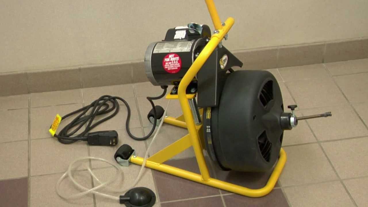 the 5 best drain cleaning machines ranked product reviews and ratings [ 1280 x 720 Pixel ]