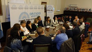 El bloque FPV - PJ se reunió con los abogados de Lula para expresar su apoyo al ex presidente