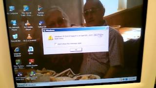 Windows XP End of Life Message
