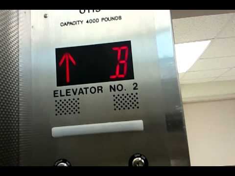 Otis/Westinghouse Service Traction Elevator @ Ohio Health Doctor's Hospital Columbus,OH