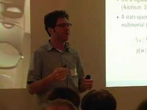 Modeling Science:  Dynamic Topic Models of Scholarly...