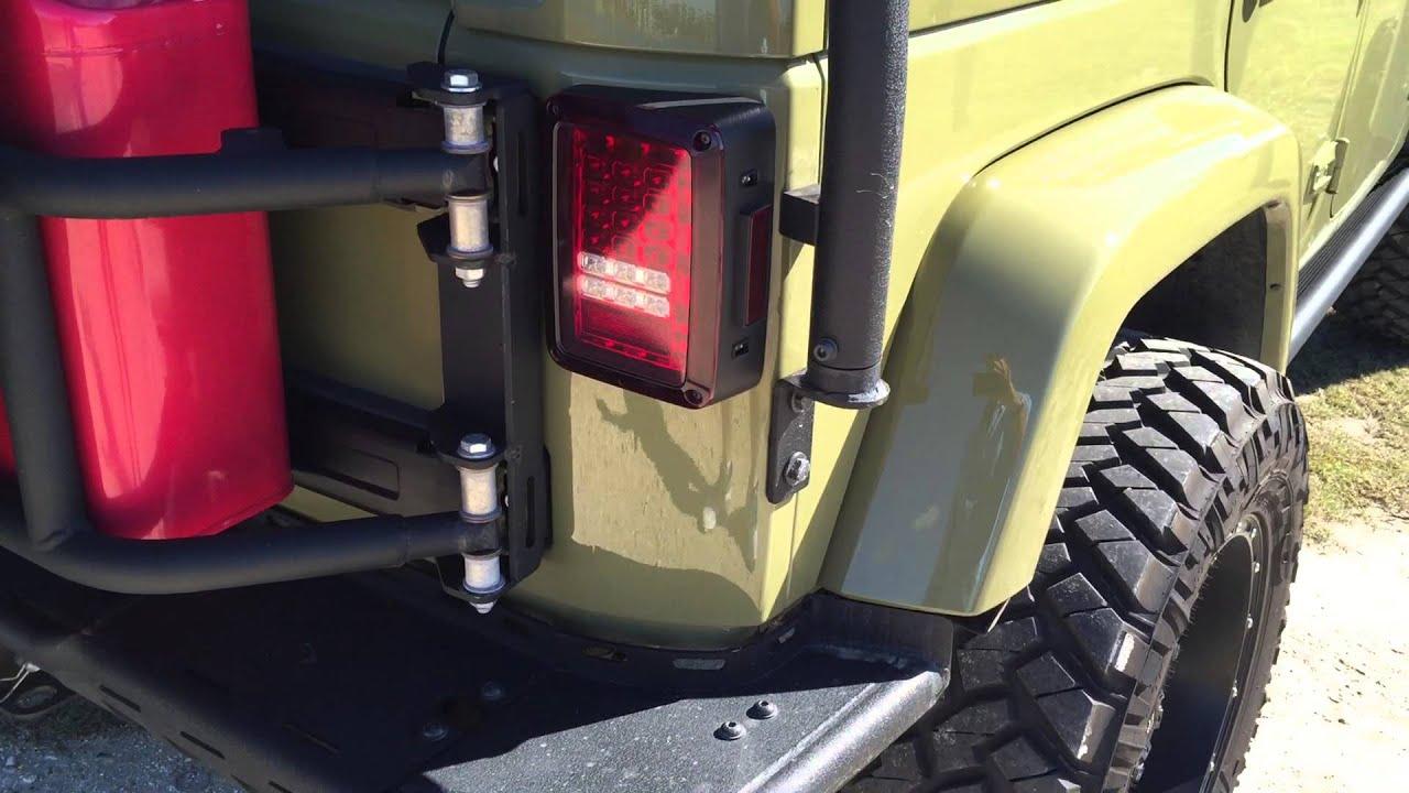 2013 Jeep Wrangler Sahara Mercenary mando Green