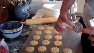 Печенье домашнее красивой формы