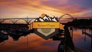 Newport Oregon Aerial Vacation