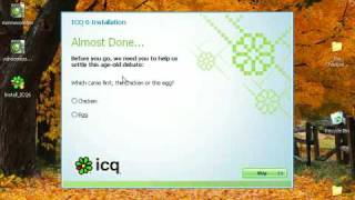 How To Install ICQ Free Chat Program