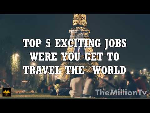 top exciting jobs