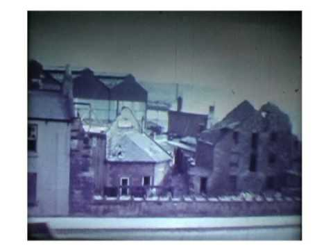 The Demolition In The 1960s Of Blaydon, A  Town North East Of England