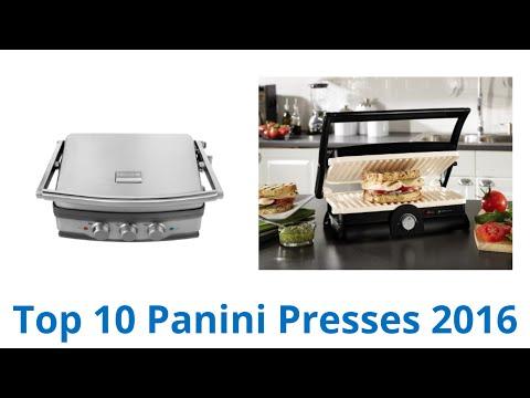 10 Best Panini Presses 2016