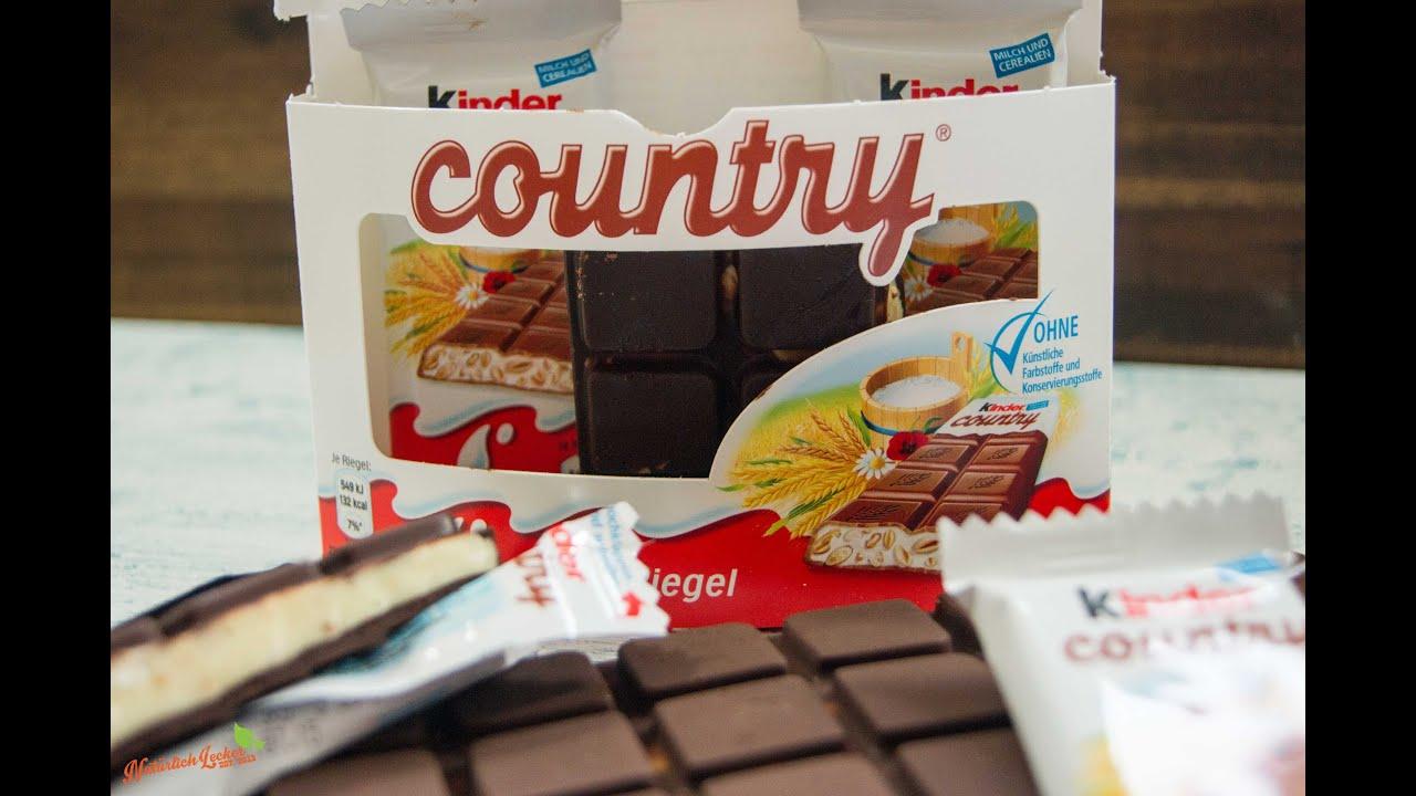 Kinder Country Selber Machen Schokolade Mit Cerealien Rezept