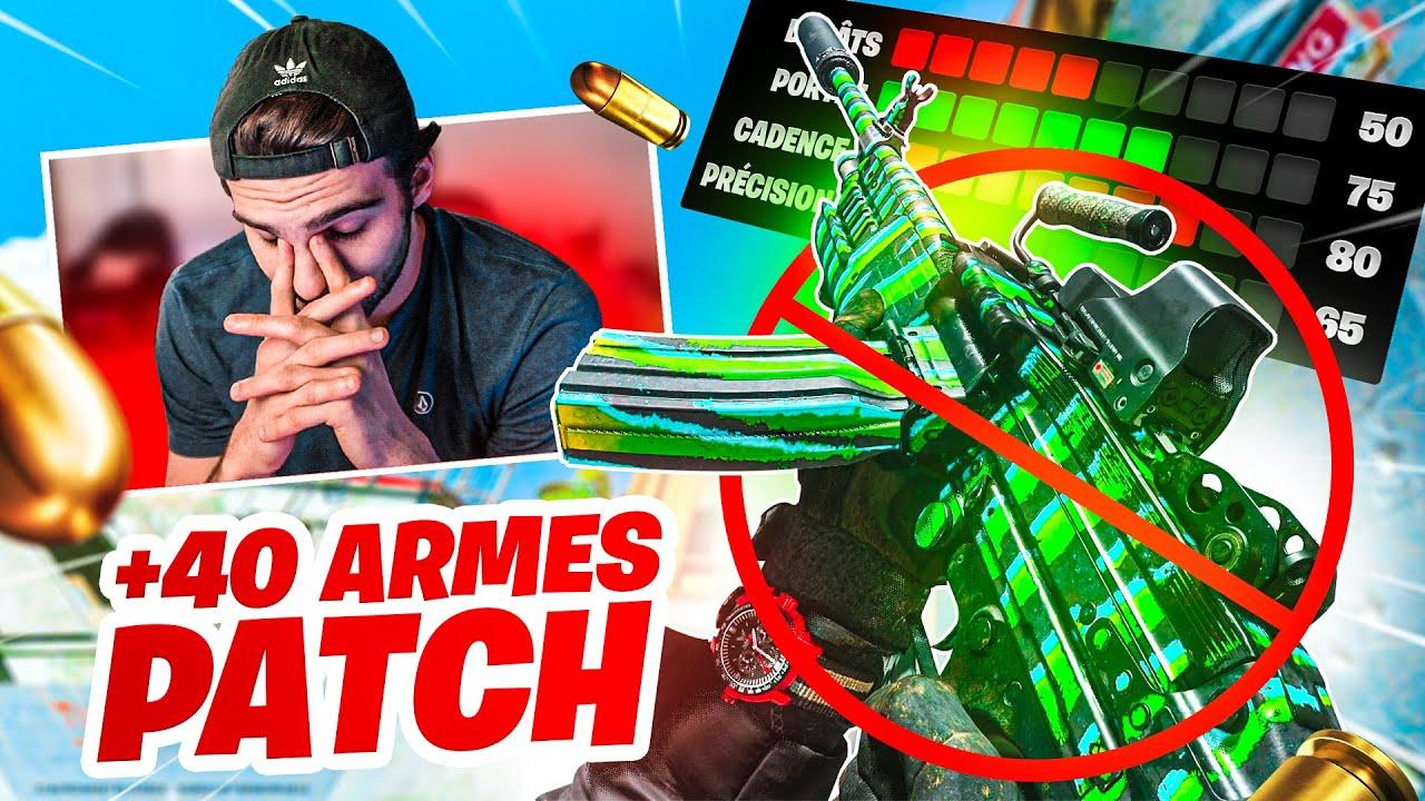 40+ ARMES ont été PATCH sur WARZONE !! 😳