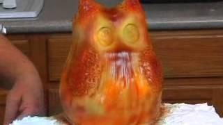 Hoooo Loves Cake Owl Log Cake Video Trailer