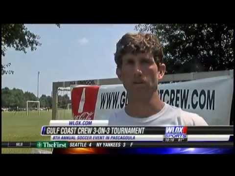 2015 Gulf Coast Crew 3v3 Soccer Tournament on WLOX News
