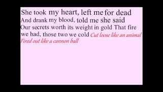 Royal Blood Ten Tonne Skeleton Lyrics