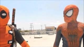 Deadpool e homem aranha #fail ( deadpool and spider-man)