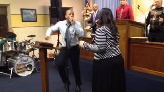 Coros pentecostales de fuego y unción- Medley- Geraldo y Redelmy