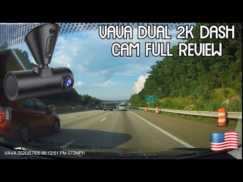 Tech Review: Best dashcam Vava 2k Dual Dash Cam 2K front/1080P rear. Unbox, Test, and Footage review