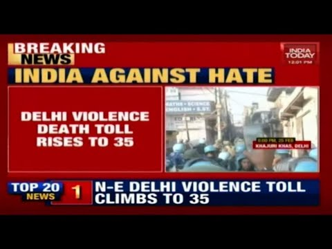 Delhi Violence: 2 More Bodies Recovered, Death Toll Risen To 35