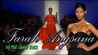 FARAH ANGSANA NY Fall Winter 2012 - Fashion Runway couture sho…