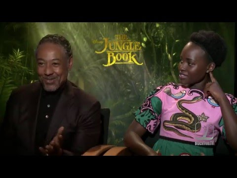 Lupita Nyong'o and Giancarlo Esposito Interview The Jungle Book