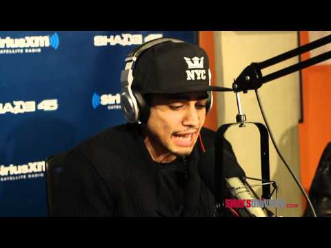 Rick Gonzalez aka Realm Reality Freestyles on Sway in the Morning