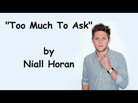 Niall Horan - Too Much To Ask *NEXT SINGLE* (Lyrics)