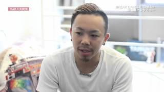 """タイスケ:放送未公開インタビュー """"TOKYO MX「TEAM G-SHOCK The Face」"""""""