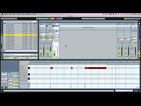 Ableton Tutorial - How To Produce Dub Music - Drums