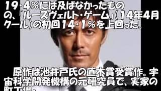 阿部寛主演「下町ロケット」初回視聴率は16・1%の好発進 俳優の阿部...