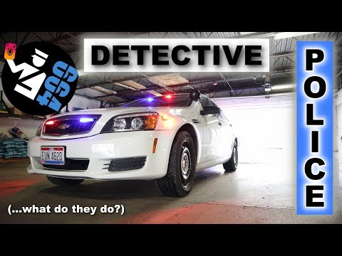 What is a DETECTIVE? | Explained by a COP
