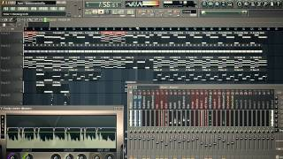 Enrique Iglesias - Ayer Instrumental Remake On Fl Studio