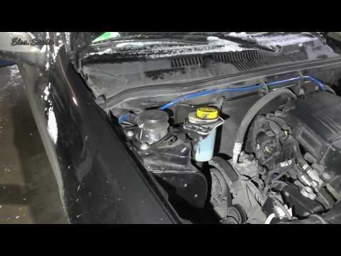 Замена верхней опоры передней стойки FIAT Albea