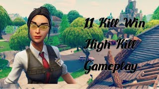 Fortnite BR : Rook - Passive 11 Kill Solo Game . Full Match