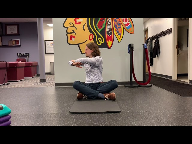 Seated Thoracic Rotations
