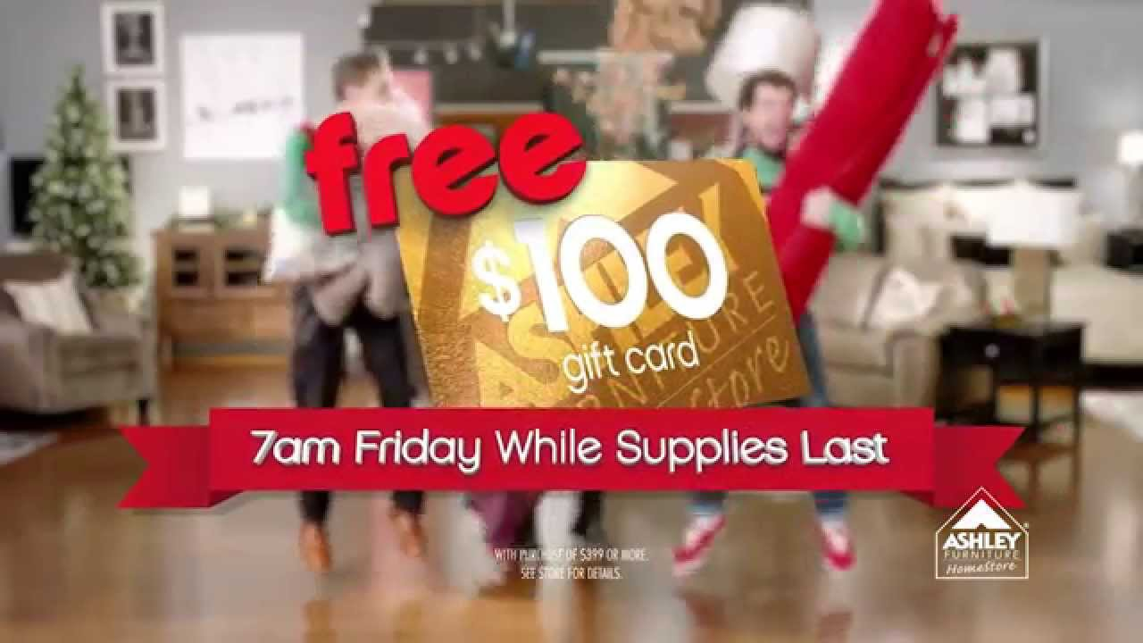 Ashley Furniture   Springfield, MO   FREE $100 Gift Card  Black Friday