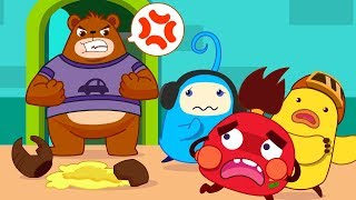 Colored Monsters Break Mr. Bear's Honey Pot | Math Kingdom Adventure | Kids Cartoon | BabyBus