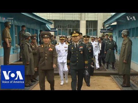 North Korea and South Korea Hold Military Talks