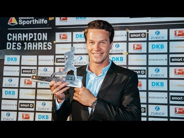 Champion des Jahres 2016: Patrick Hausding ausgezeichnet