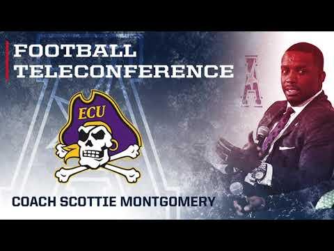2017 Football Teleconference Week 6 - ECU Head Coach Scottie Montgomery