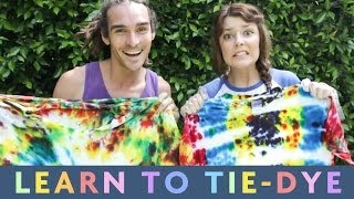 TIE-DYING WITH GRACE | LEARN WITH LOUIS